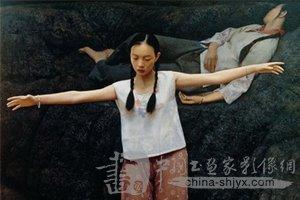 王沂东人物油画欣赏