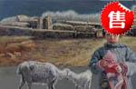 郑建国油画:故乡的冬